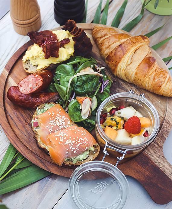 Brunch- La Voile Blanche - Restaurant Guethary