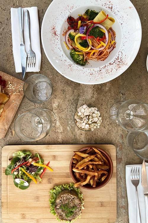 Le Restaurant - La Voile Blanche - Restaurant Guethary